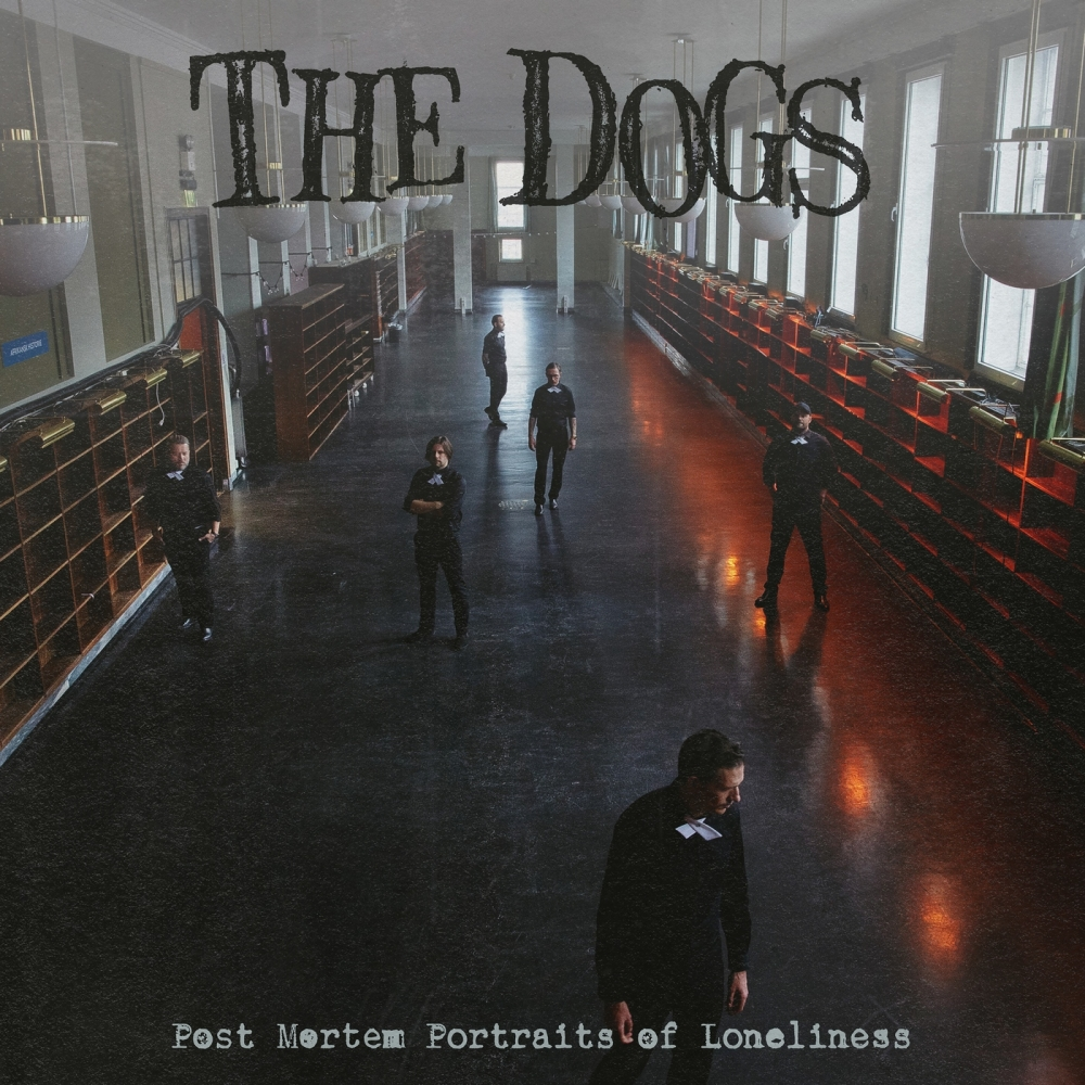 The Dogs - Post Mortem Portraits of Loneliness [LP] (Red vinyl)