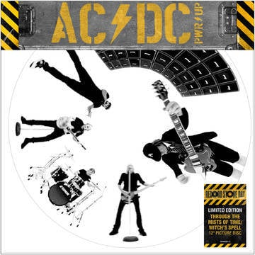 """AC/DC - Through The Mists Of Time / Witch's Spell [LTD 12""""] (Picture Disc) (RSD21)"""