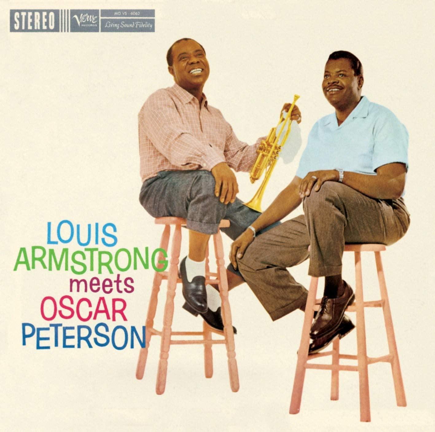 Louis Armstrong & Oscar Peterson - Louis Armstrong Meets Oscar Peterson [LP]