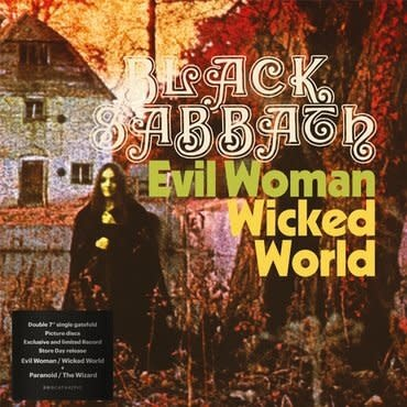 Black Sabbath - Evil Woman / Wicked World & Paranoid / The Wizard [2x7