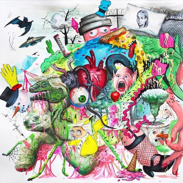 Tropical Fuck Storm – Braindrops [LP] (Magenta vinyl)