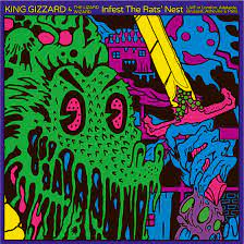 King Gizzard & The Lizard Wizard - Infest The Rats' Nest - Live [LP]
