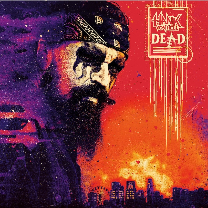 Hank Von Hell - Dead [LTD LP] (Purple vinyl)