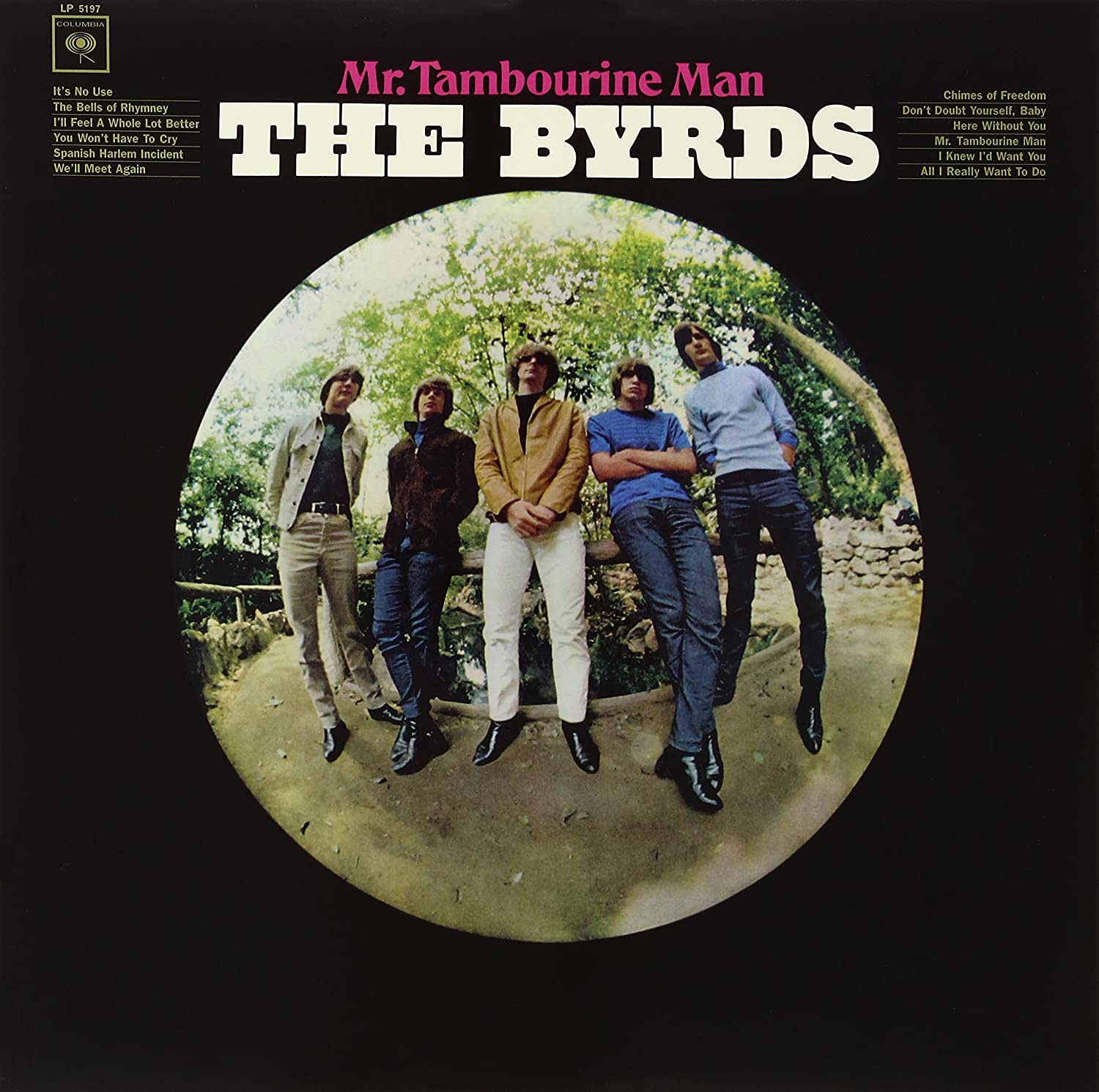 The Byrds - Mr. Tambourine Man [LP]