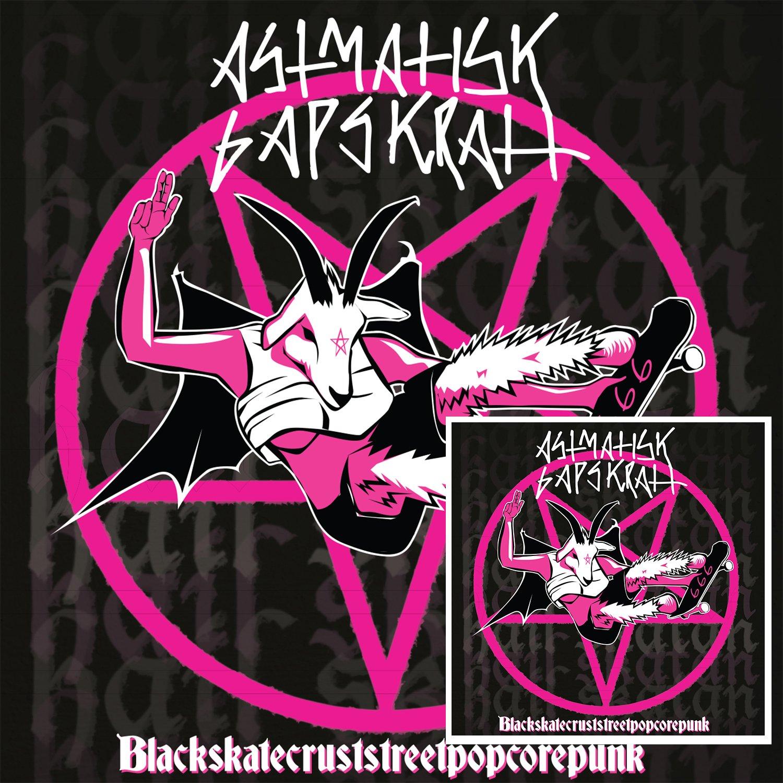 Astmatisk Gapskratt – Blackskatecruststreetpopcorepunk [LP]