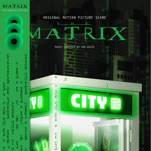 Don Davis - The Matrix - The Complete Edition [LTD 3xLP] (RSD21)