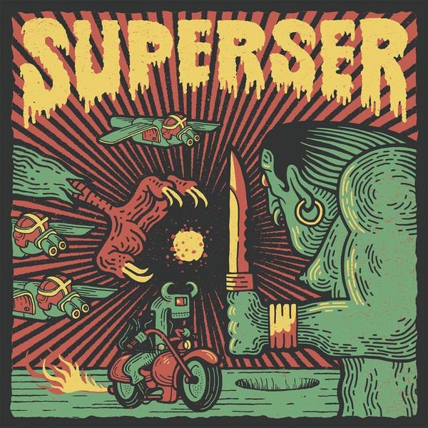 Superser - Radiaciones En La Noche [LP]