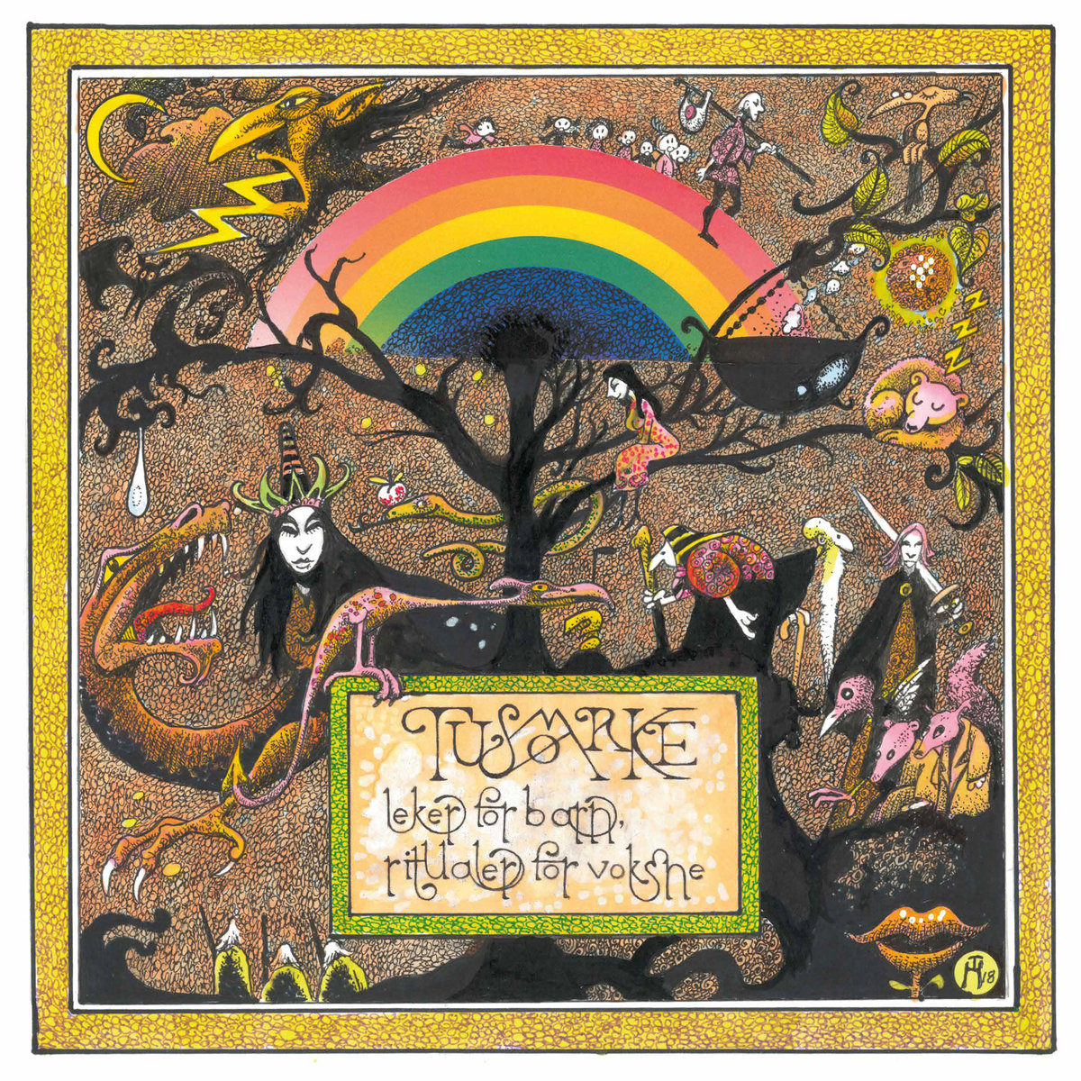Tusmørke - Leker For Barn, Ritualer For Voksne [LTD LP] (White vinyl)