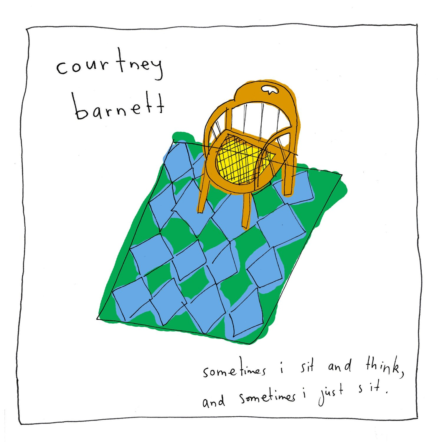 Courtney Barnett - Sometimes I Sit And Think, And Sometimes I Just Sit [LP]