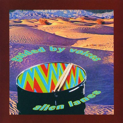 Guided By Voices - Alien Lanes [LP] (Blue green red vinyl)