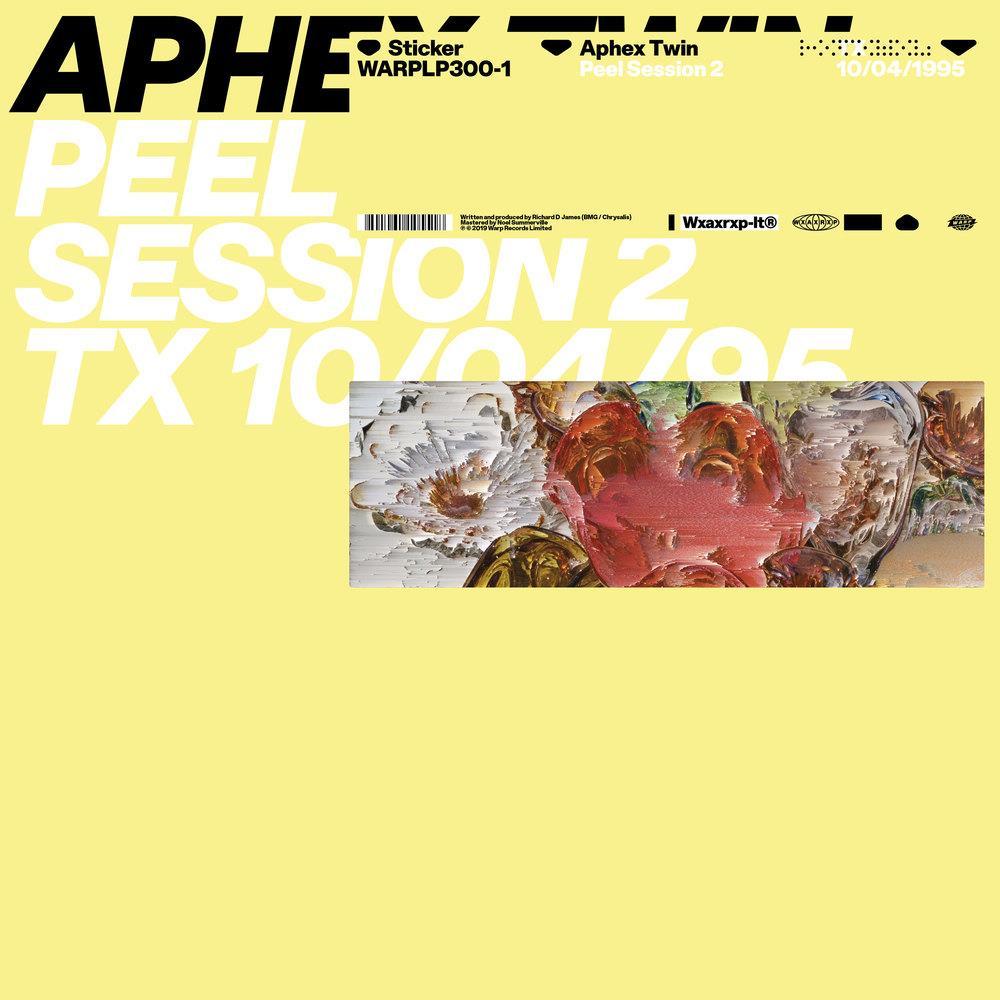 Aphex Twin – Peel Session 2 TX 10/04/95 [LP]