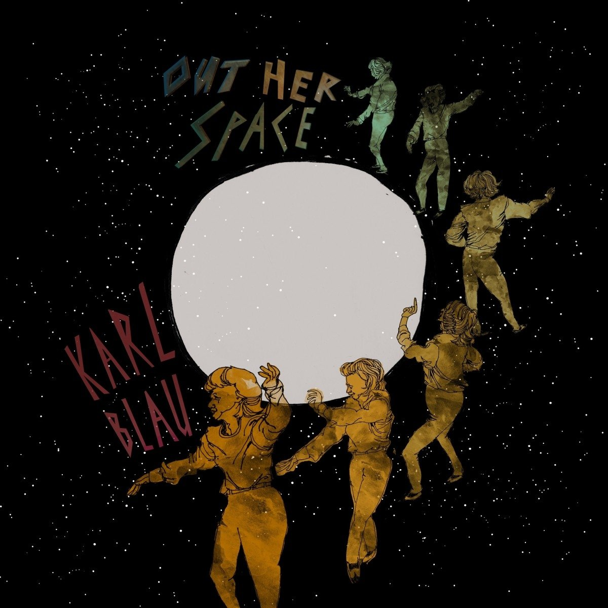 Karl Blau - Out Her Space [LP]