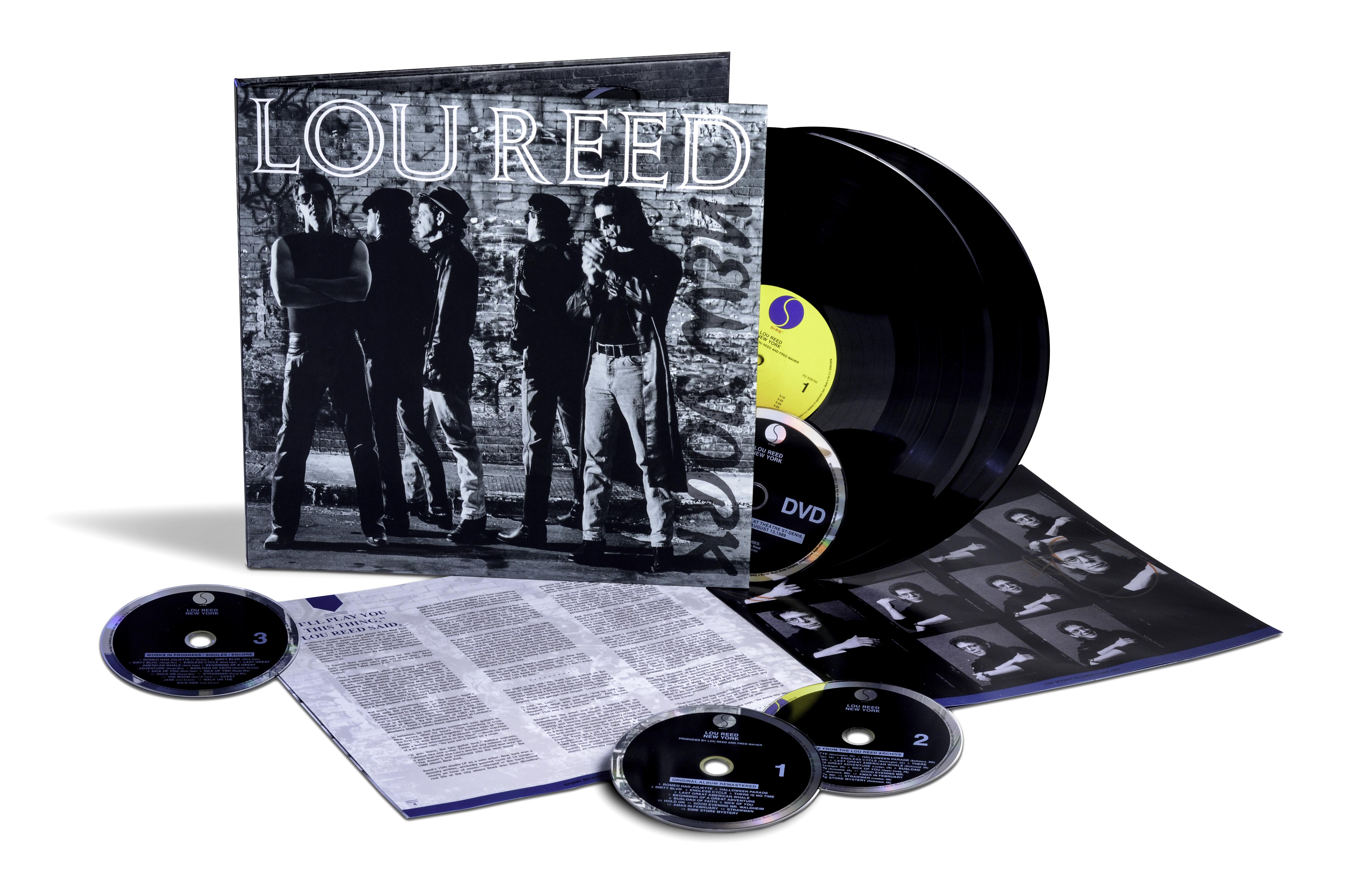 Lou Reed - New York [LTD 2xLP + 3CD + DVD]