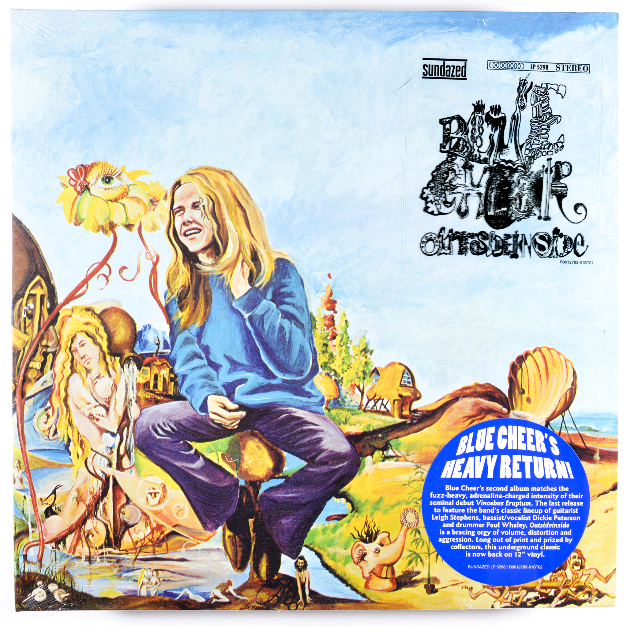 Blue Cheer - Outsideinside [LP]
