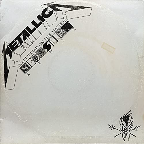 """Metallica - Don't Tread On Else Matters [LTD 12""""] STRICTLY LIMITED!!!"""
