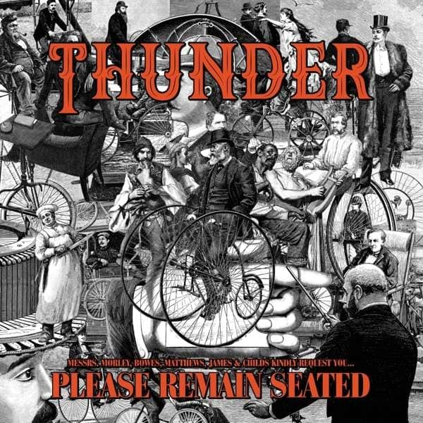 Thunder - Please Remain Seated [LTD LP] (Orange vinyl)