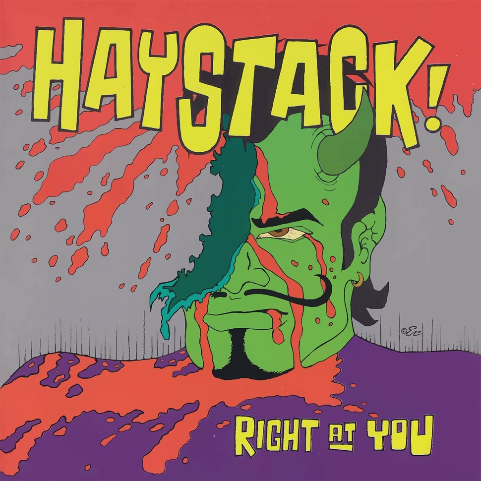 Haystack - Right At You [LP] (Green Vinyl)