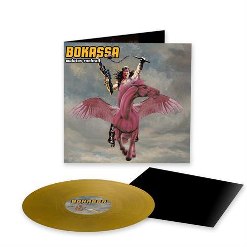 Bokassa - Molotov Rocktail [LTD LP] (Norwegian exclusive gold vinyl)