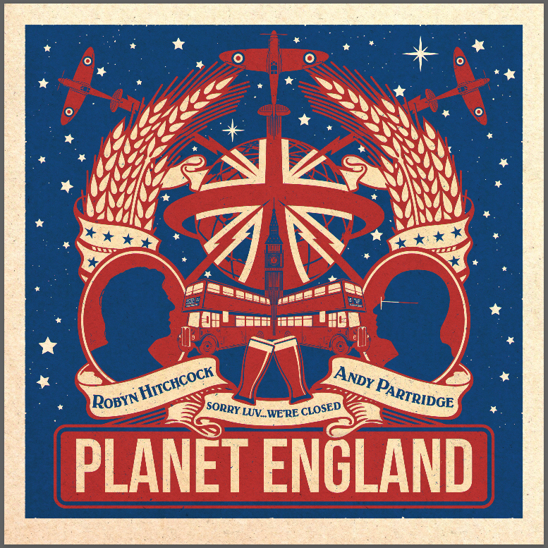"""Robyn Hitchcock & Andy Partridge - Planet England EP [10""""]"""