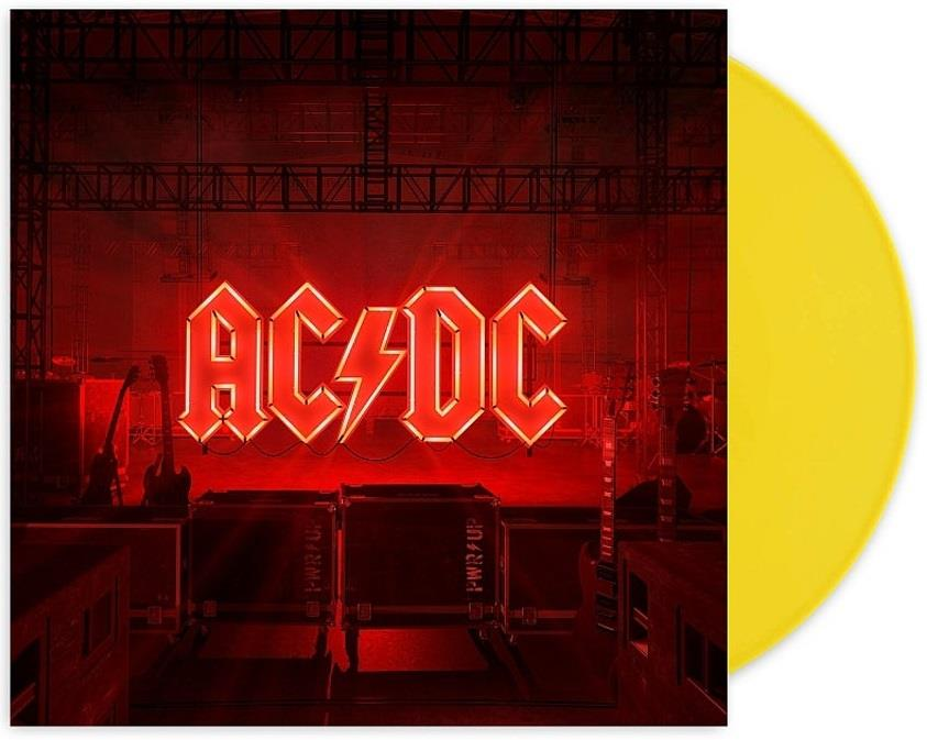 AC/DC - Power Up [LTD LP] (Yellow vinyl)
