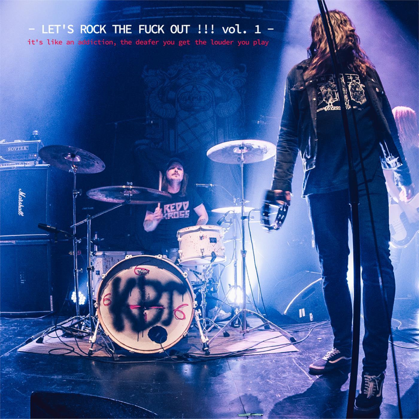 Kosmik Boogie Tribe - Let`S Rock The Fuck Out!!! Vol. 1 [LP]