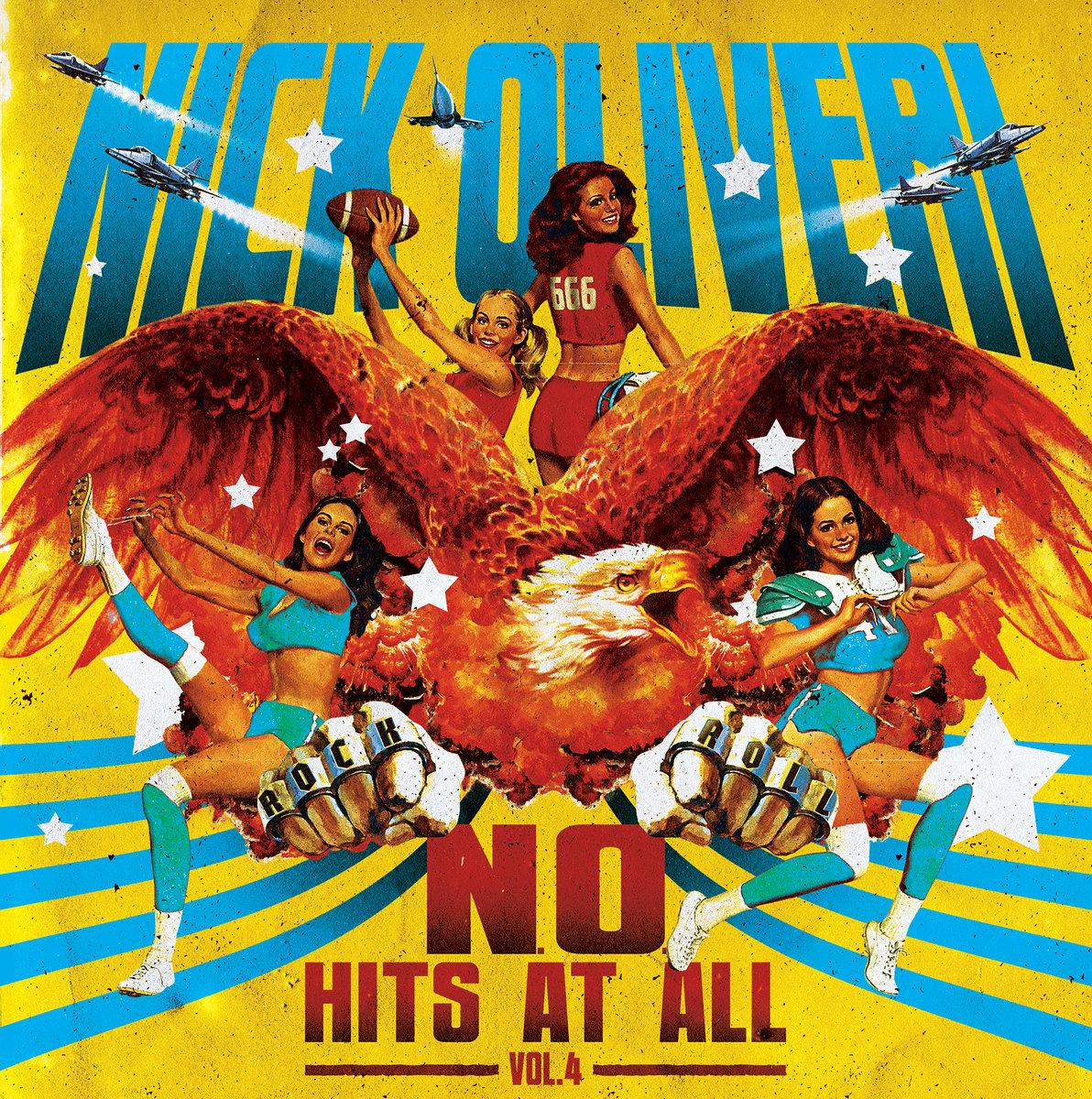 Nick Oliveri - N.O. Hits At All Vol. 4 [LTD LP] (Blue Vinyl)