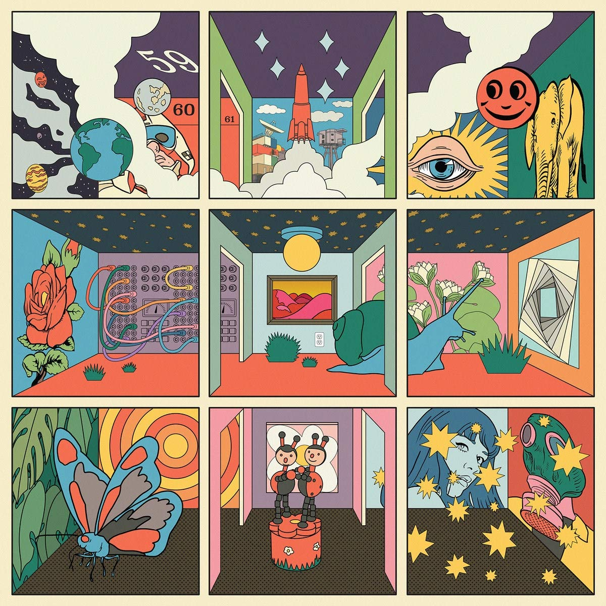 STRFKR - Future Past Life [LP] (orange vinyl)
