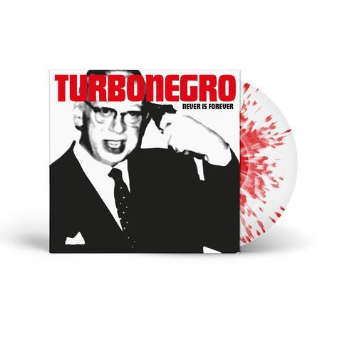 Turbonegro - Never is Forever [LTD LP] (White/Red splatter vinyl)