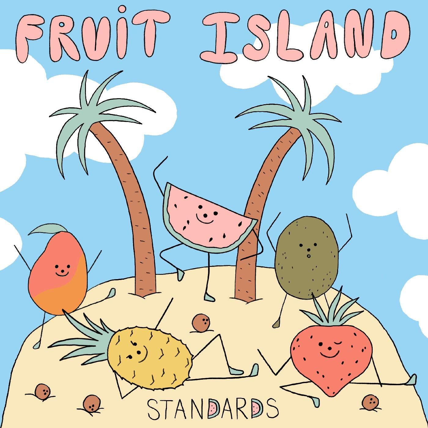 Standards - Fruit Island [LP] (blue & White Vinyl)