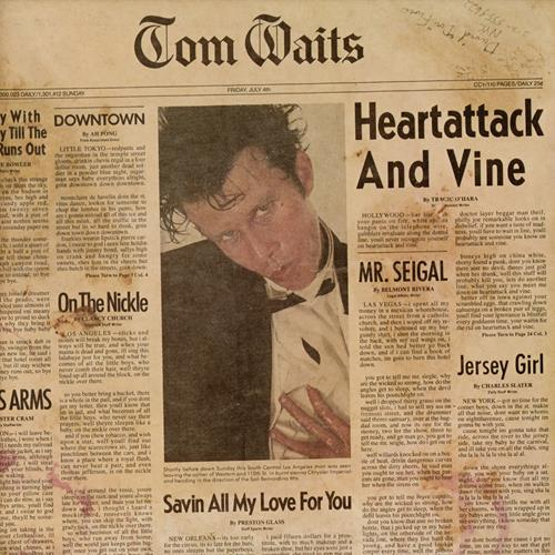 Tom Waits – Heartattack and Wine [LP]
