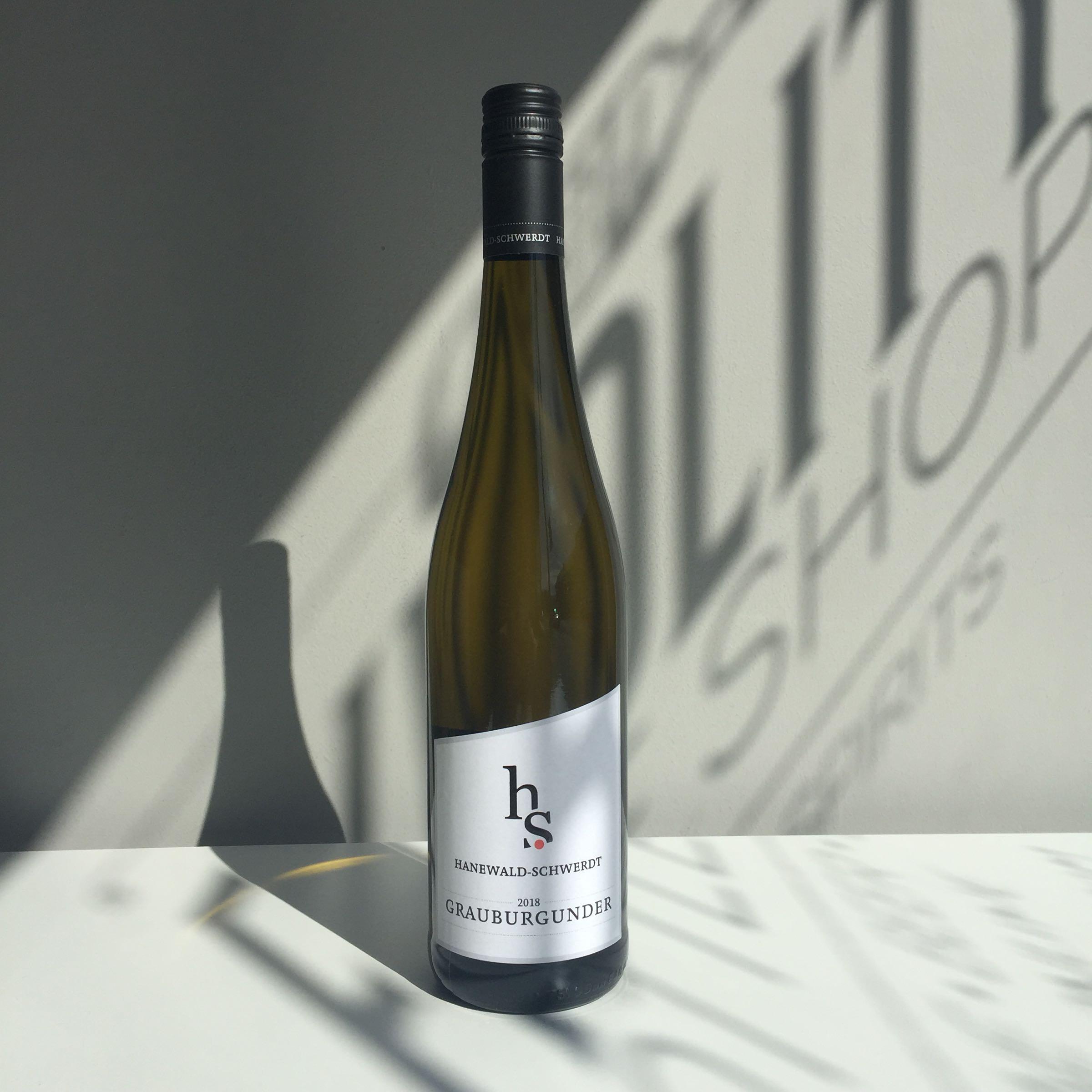 Hanewald-Schwerdt - Grauburgunder (Pinot Gris) 2018