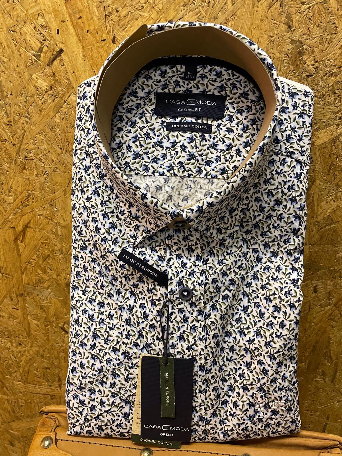 Casa Moda organic k/ ærmet skjorte