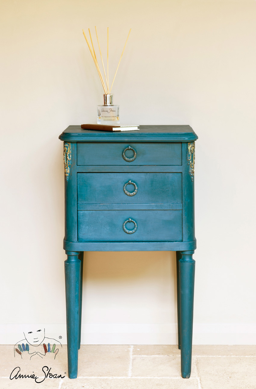 Verwonderlijk Annie Sloan Chalk Paint Kalkmaling Aubusson Blue 1L - Dairy Hill OY-89