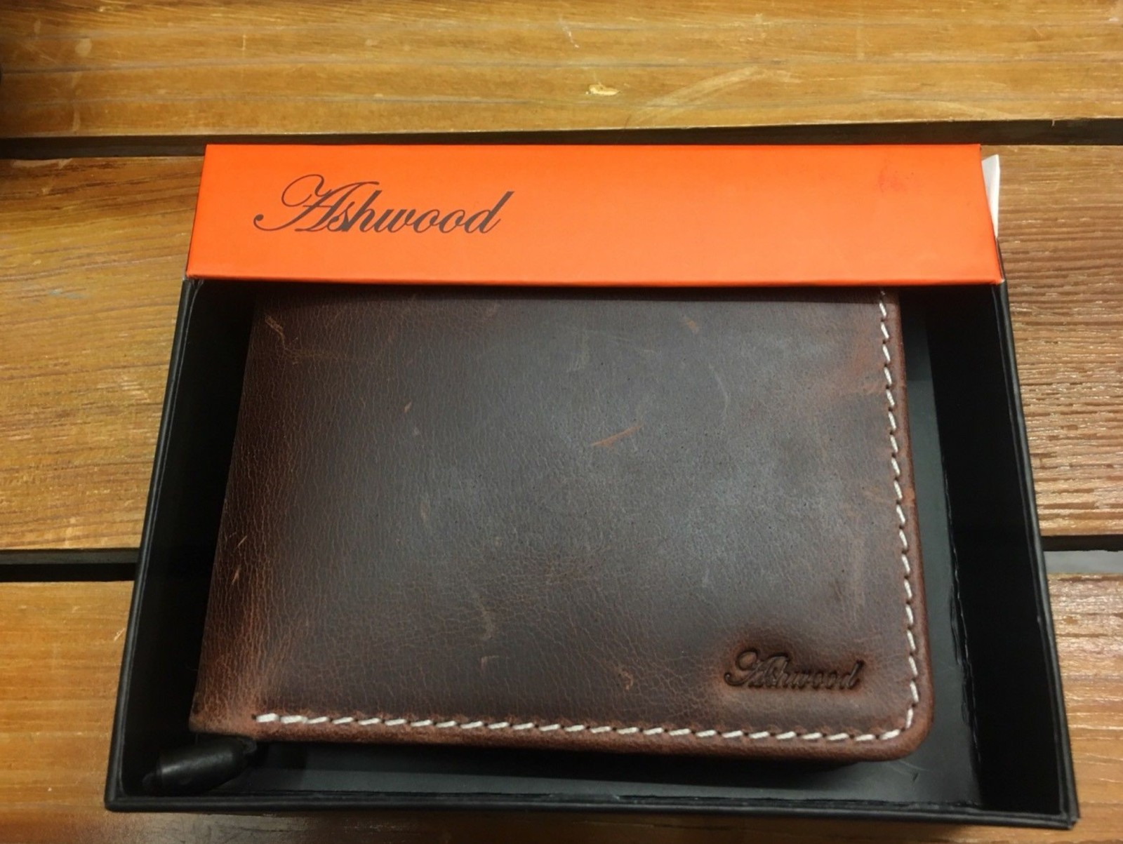 0aef805b518bb Ashwood Mens Leather Wallet Copper 1342 - The way we Wore