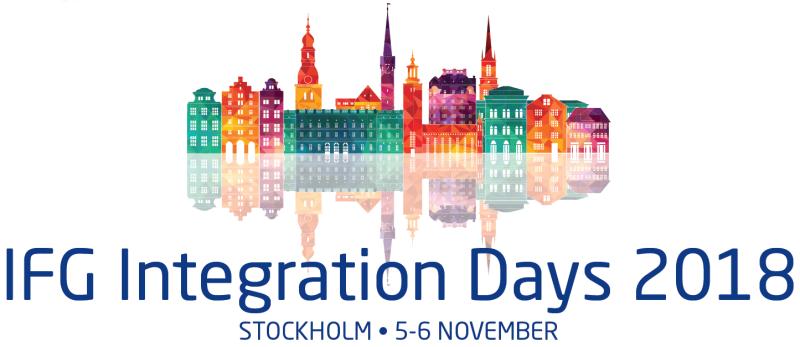 Usergroup Member - IFG Integration Days 2018