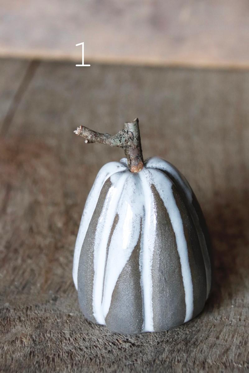 Pumpa - gråvit