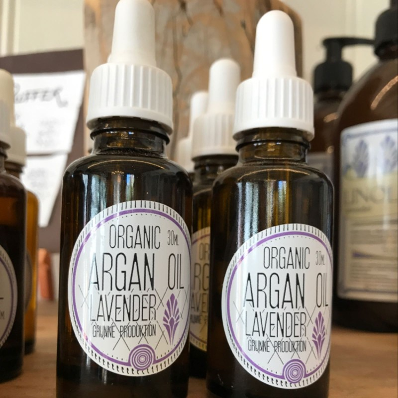 Argan-olje med lavendel