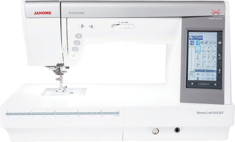 Janome Memory Craft 9450 QCP : FREE DELIVERY