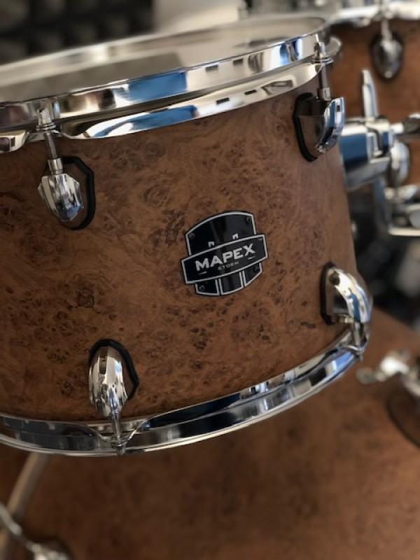 Mapex Storm Rock Fusion drum-kit in Camphor wood grain