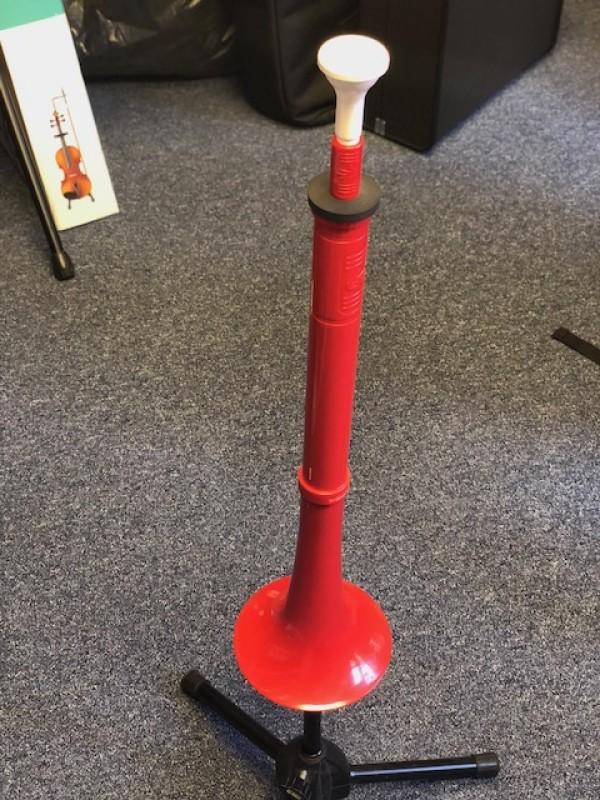 Pbuzz plastic instrument - red