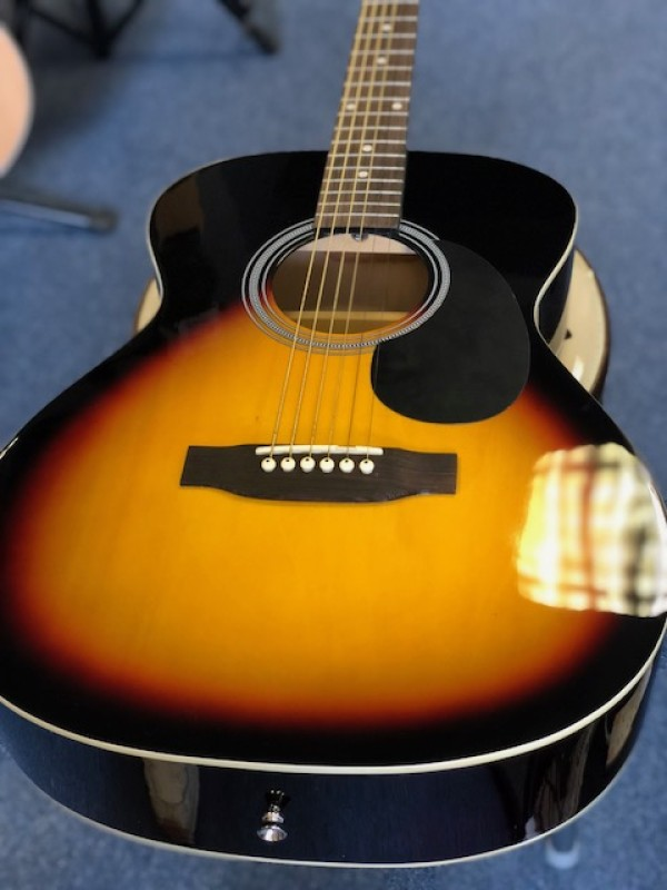 SX FOLK ACOUSTIC SUNBURST