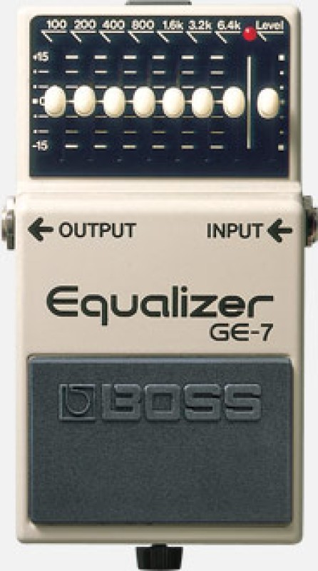 Boss GE7 BAND GRAPHIC