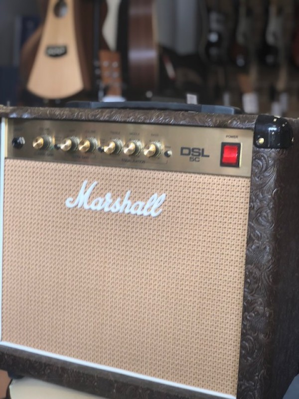 MARSHALL DSL-5 5W COUNTRY AND WESTERN DUAL SUPER LEAD VALVE COMBO