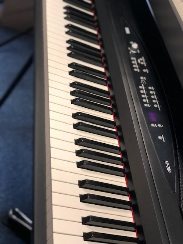 KORG DIGITAL PIANO SP-280BK