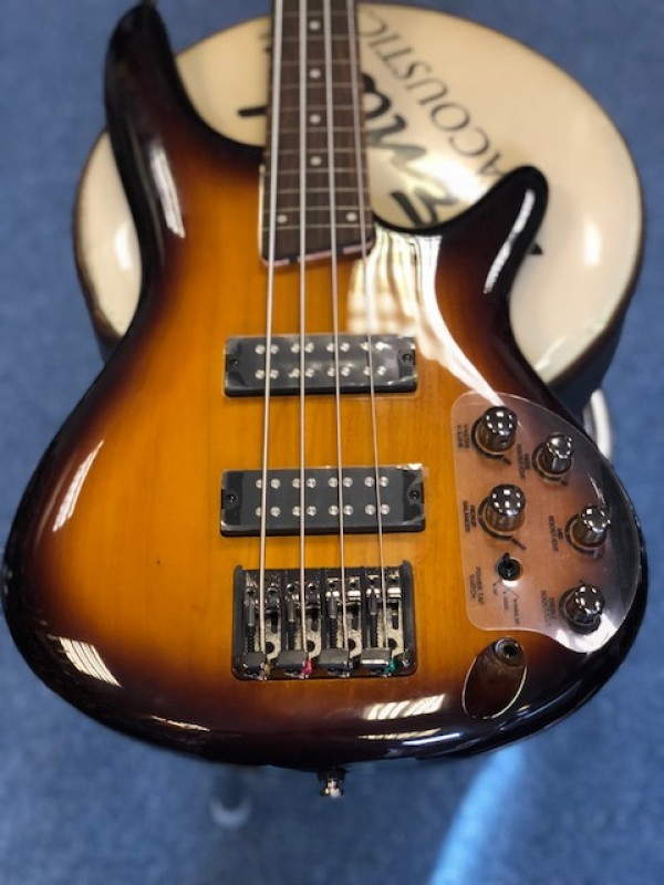 IBANEZ SR 370EF BBT BROWN BURST FRETLESS