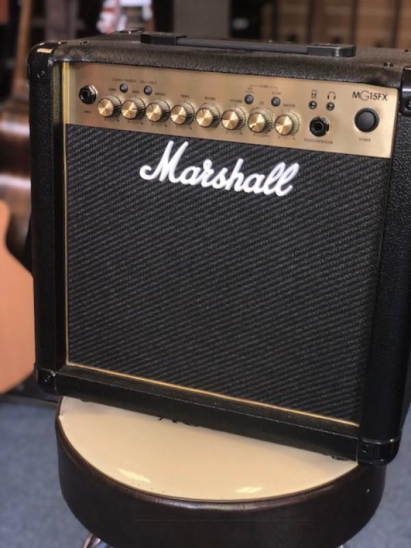MARSHALL FX 15 WATT GOLD W'EFFECTS MG15G