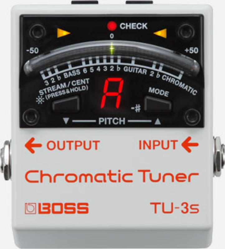 Boss TU3S PEDAL TUNER SMALL
