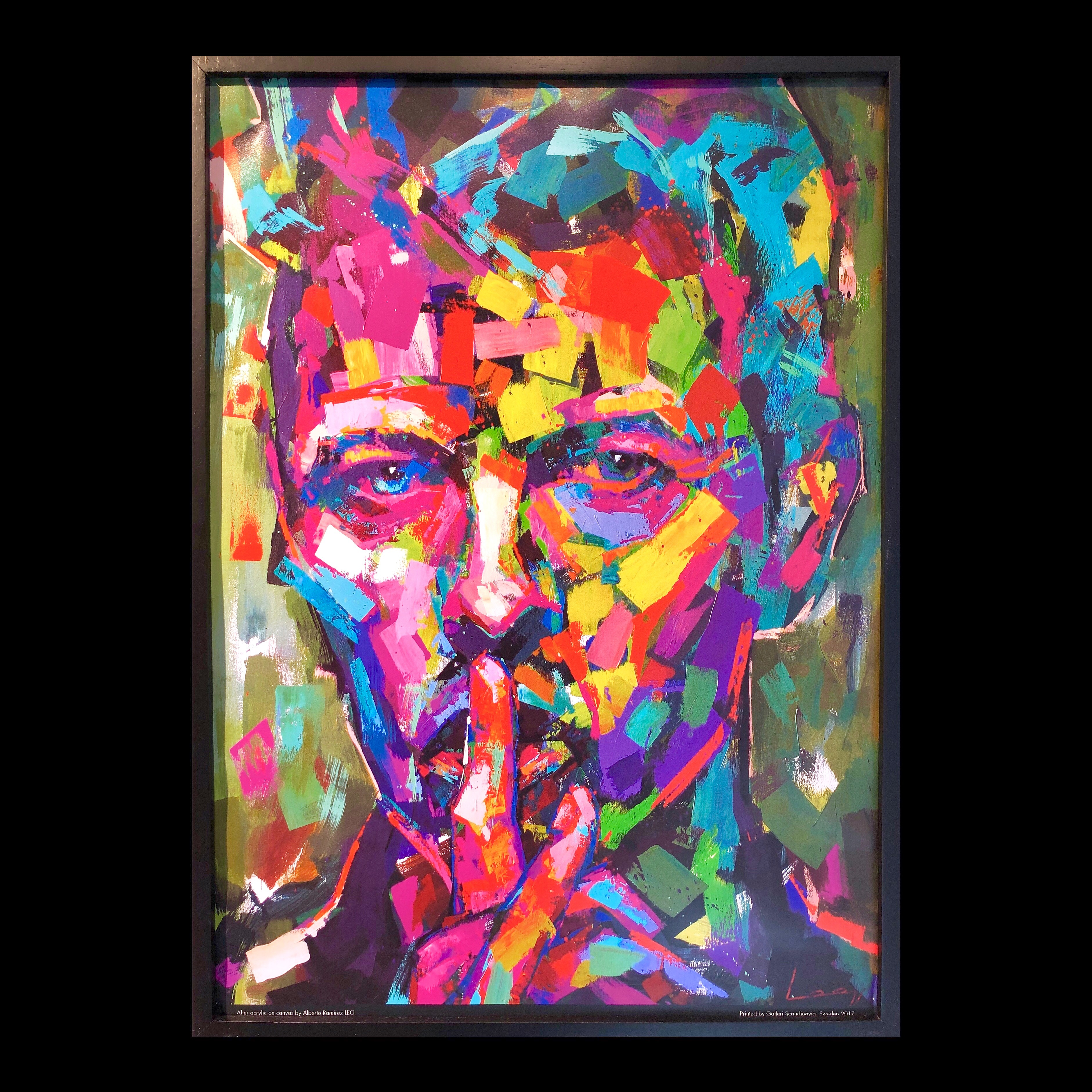 """David Bowie"" Limited Edition Poster by LEG 50x70 cm"