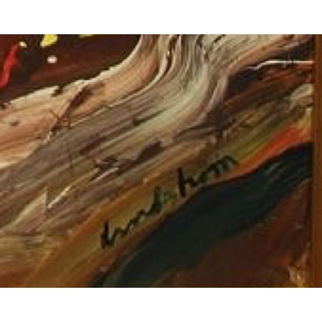 """""""Dancer"""" Acrylic / Gouache on paper by Bengt Lindström. 146 x 114 cm"""