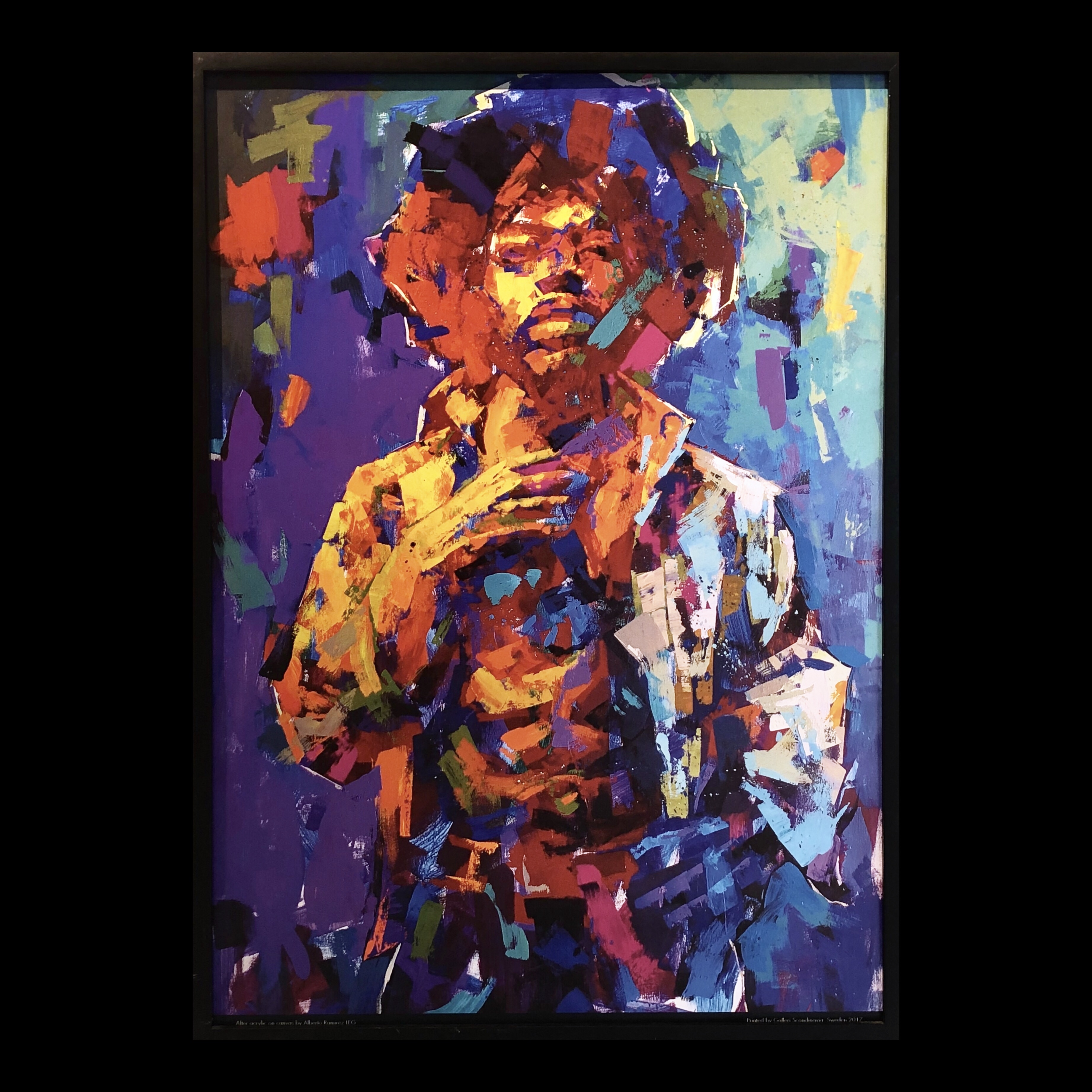 """Jimi Hendrix"" Limited Edition Poster by LEG. 50x70 cm"